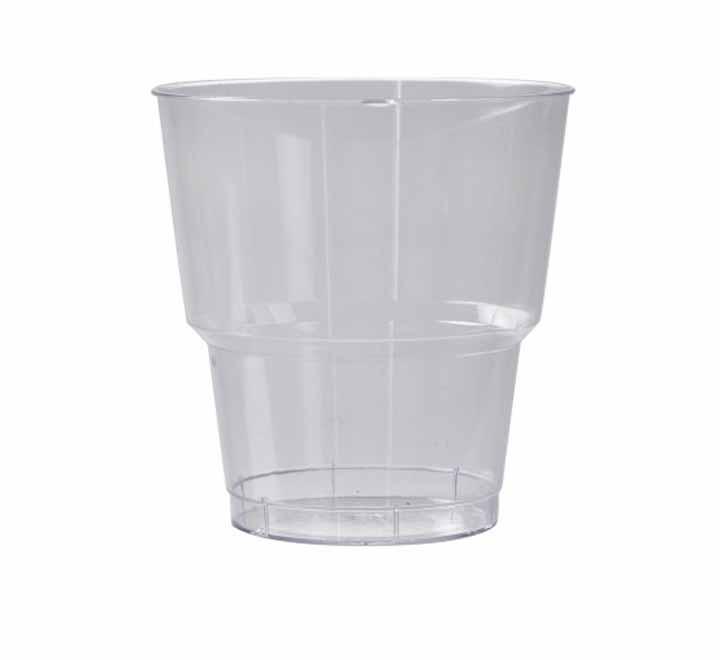 Ποτήρι Πλαστικό Χαμηλό  Ποτού (pet) Διάφανο 250ml