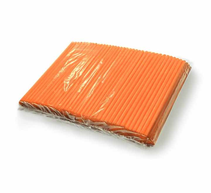 Καλαμάκια Freddo Πορτοκαλί 18cm
